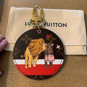 Louie Vuitton bag charm